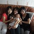 2008.08.09四個漂亮阿姨又來找小瀚瀚..