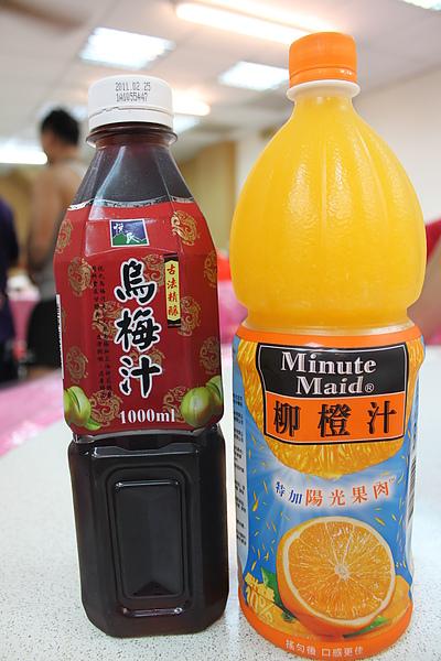 這二瓶飲料是這餐最優的東西..
