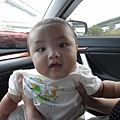 2008.10.11今天我們要去台南幫小欣慶生..瀚瀚回外婆家..