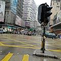 下雨的街景..