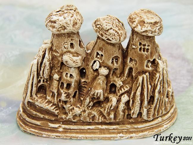 卡帕多奇亞的蕈狀岩造型擺飾