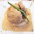 法式芥茉白醬豬排
