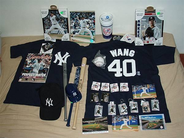 Wang & Yankees 大收集