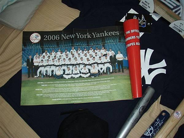 Yankee雜誌...為了這張小海報才買的Yankee雜誌