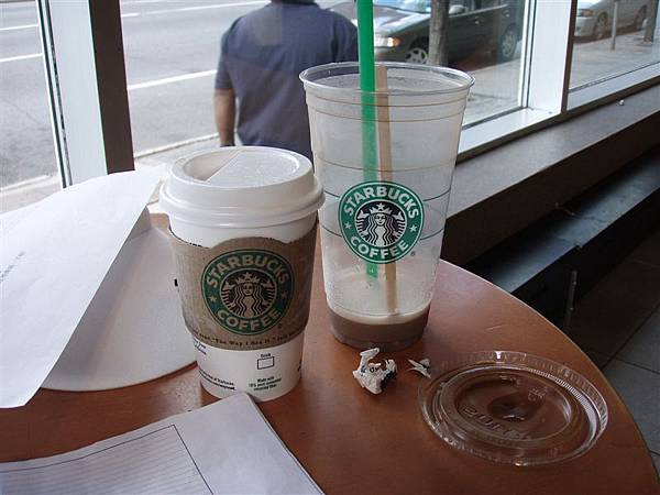 DAY 7-Starbucks星冰樂也可以當一餐!厲害吧!