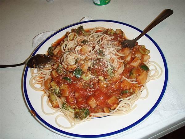 DAY 11-義大利麵 再吃一天