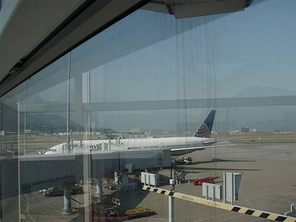 DAY 1-美國大陸航空:我的飛機-香港<-->紐約紐華克