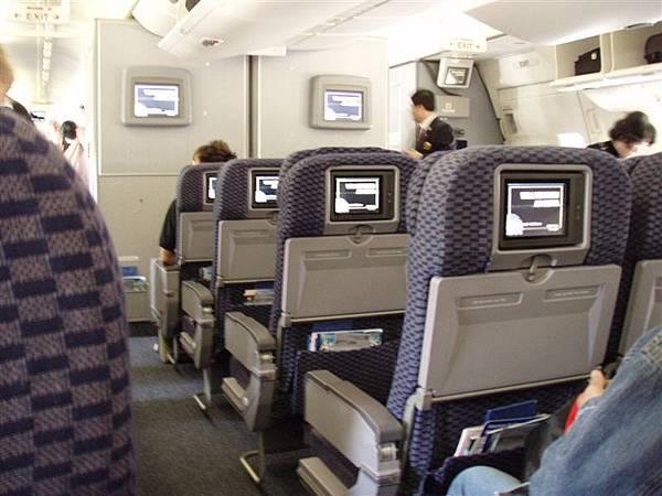 DAY 1-美國大陸航空:我覺得很舒適的飛機!!!