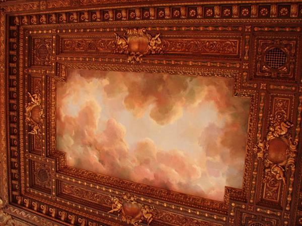 DAY 2-紐約公共圖書館--超美的天花板,怎麼能夠每個建築物都這麼漂亮哩!!