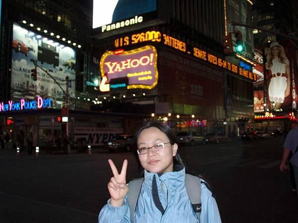 DAY 3-時代廣場霓虹燈