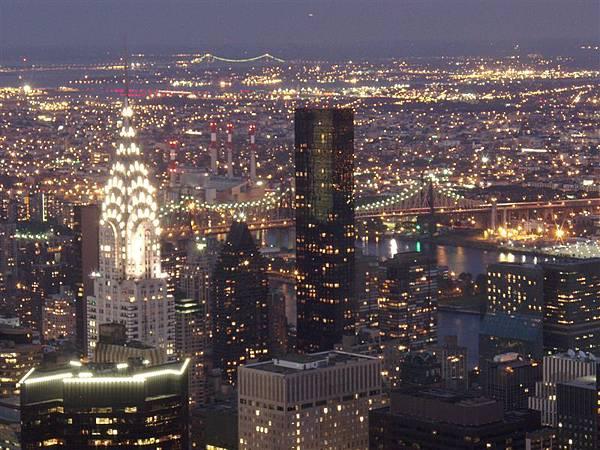 DAY 6-曼哈頓島夜景看透透...超美夜景!從沒看過...