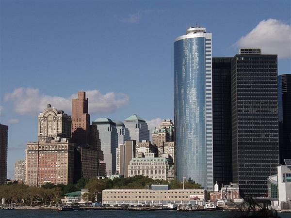 DAY 7-遊島中---從外面看進去曼哈頓島!別有風味