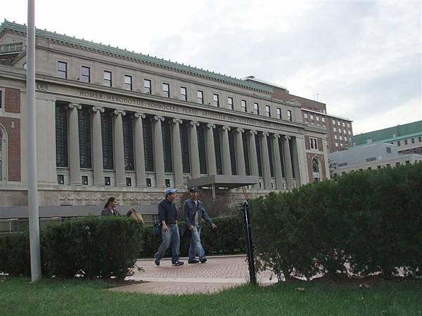 DAY 8-哥倫比亞大學校景
