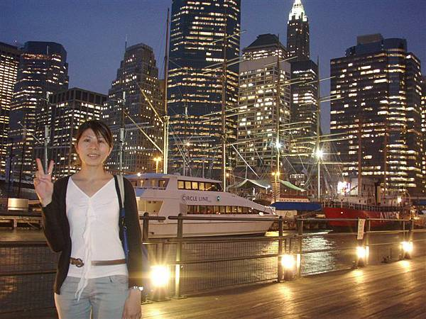 DAY 9-南街海港夜景+如...看吧!真的像合成照!