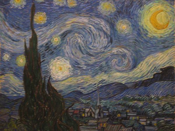 DAY 10-MoMA-梵谷的星夜