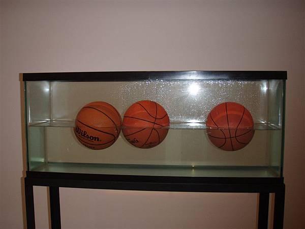DAY 10-MoMA-水中的籃球!?也是藝術....所以說!!!我們真的不懂藝術...還是說!我們也都可以很藝術!?它是要說.