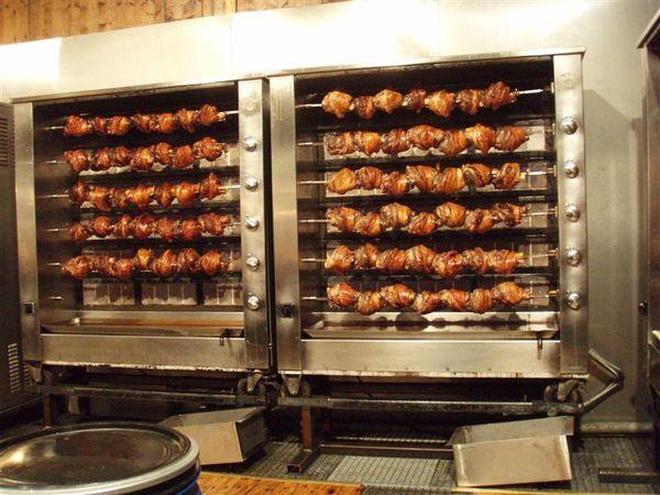 會場內的德國豬腳專賣店