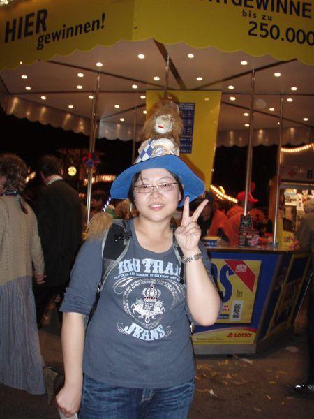 小葉夫婦買的紀念帽!超可愛滴....