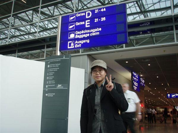 Day2-法蘭克福機場入關前
