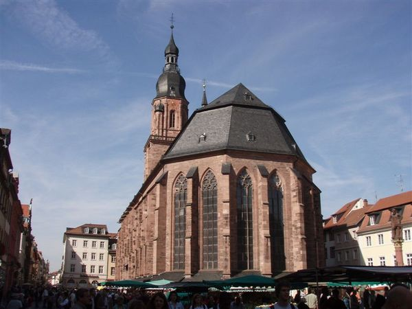 Day2-海德堡-聖靈教堂