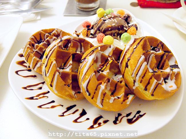 鬆餅午茶套餐_冰淇淋