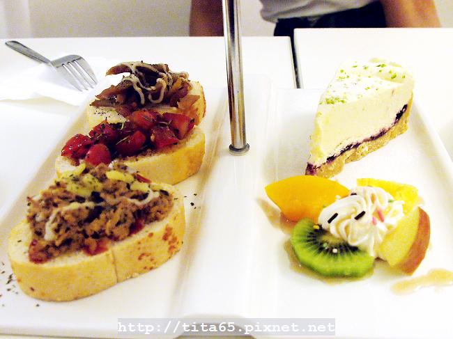 英式下午茶套餐_法式麵包三風味&雪藏起司蛋糕