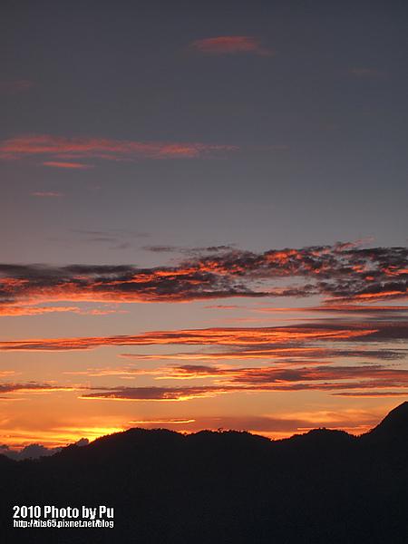 火燒雲之日出