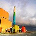 火力發電廠 (濃化色調)