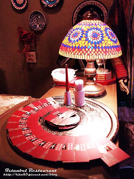 馬賽克檯燈