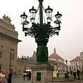 城堡前廣場...這是路燈嘛!?