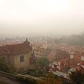 遠望布拉格舊城區