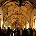 舊王宮內部的肋拱型挑高屋頂