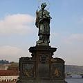 查理大橋上的聖約翰雕像