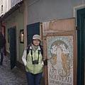 黃金巷-別致的商店門
