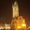 市政廳&天文鐘塔(夜景)