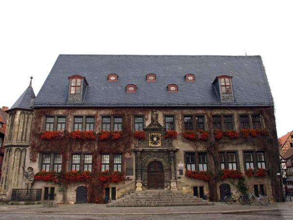 奎德琳堡-市政廳