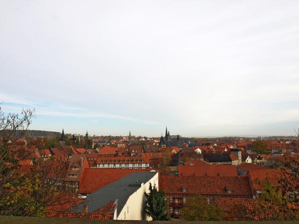 城堡區俯瞰奎德琳堡
