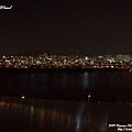緊鄰漢江的夜景