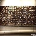 W Seoul Walkerhill的lobby入口處的熱感擺飾