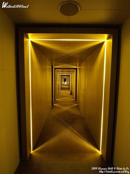 W Seoul Walkerhill暗摸摸的客房區