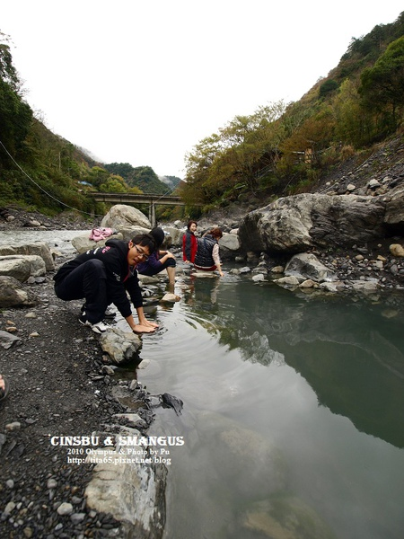 尖石鄉野溪溫泉