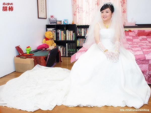 甜美可愛的新娘~