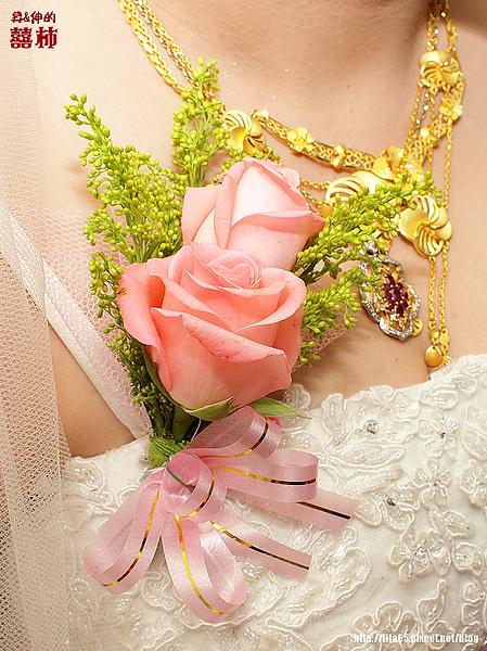 新娘ㄉ胸花