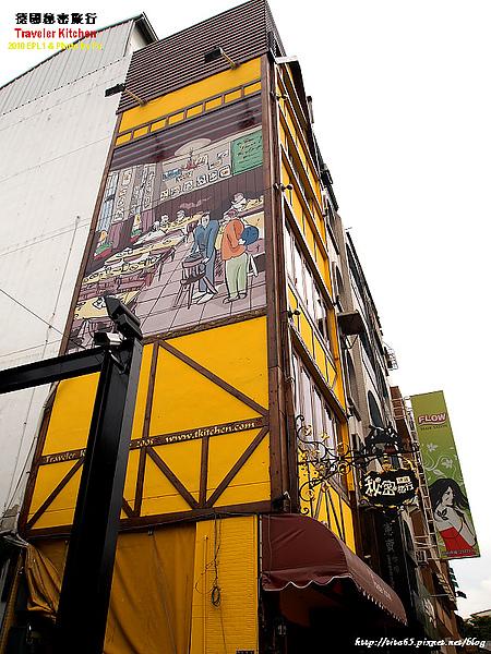 連牆壁都有彩繪~一整個德國風