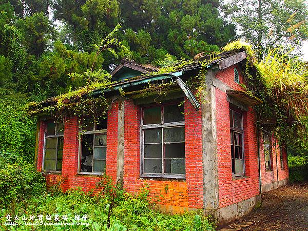 廢棄的磚瓦房