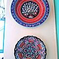 中東風味的瓷盤
