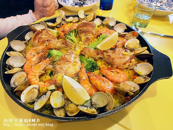 Paella Valenciana~海陸雙拼燉飯~三人份