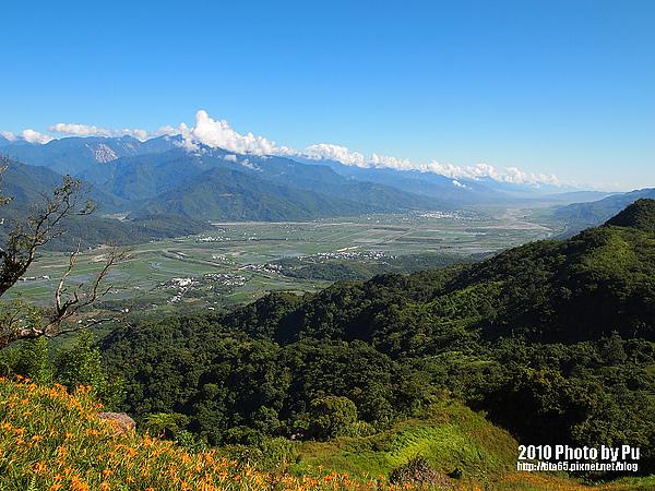 台東縱谷的日景~