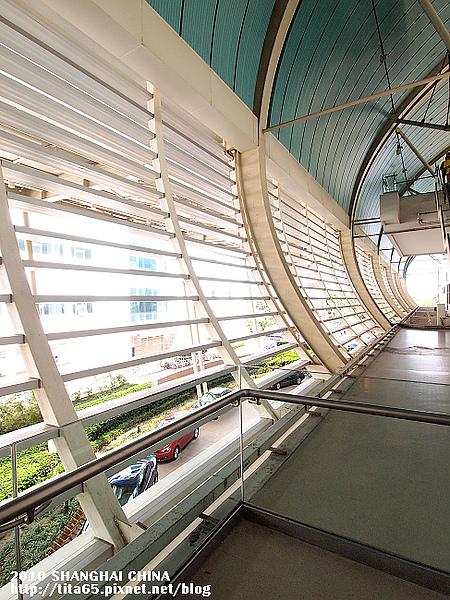 磁浮列車站~龍陽站