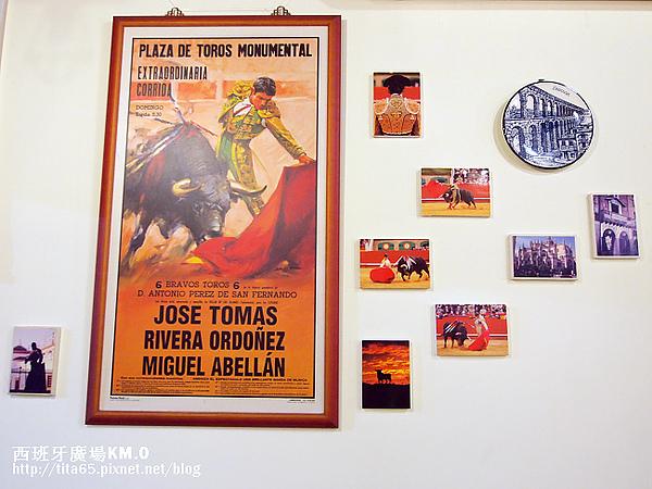 店內到處都是有關西班牙ㄉ照片~